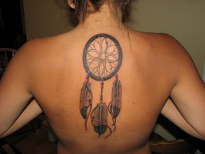 dreamcatcher body art