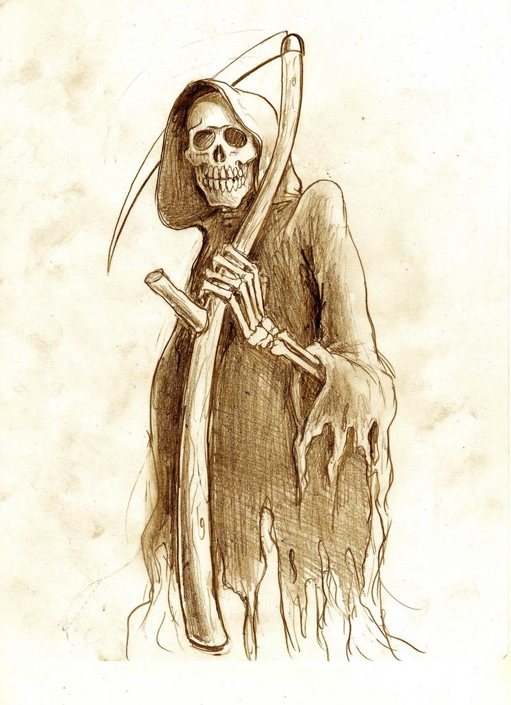 More Grim Reaper Tattoo Designs