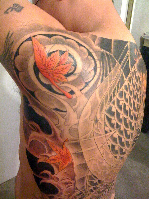 Koi Fish Tattoos Cool Tattoo Designs Ideas Their Meaning