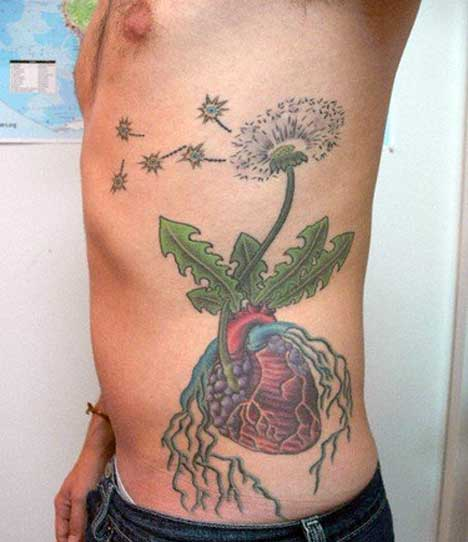 21 bold flower tattoos on men tattoo me now for Genital tattoo tumblr
