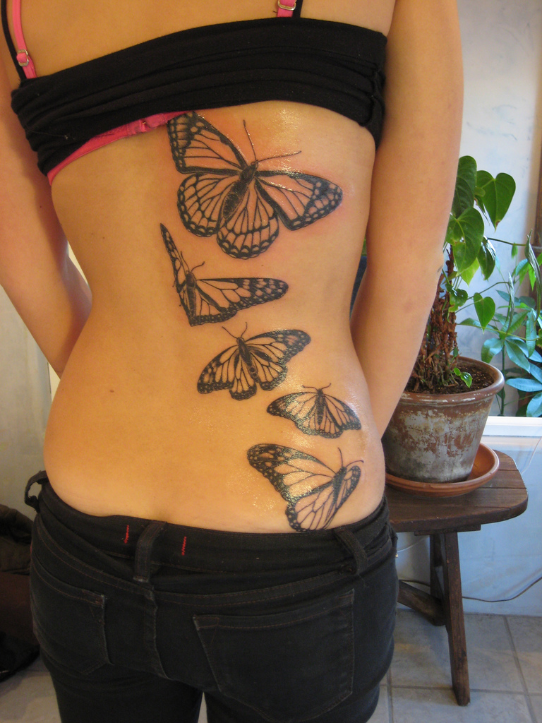 77 beautiful butterfly tattoos plus their meaning photos. Black Bedroom Furniture Sets. Home Design Ideas