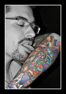 half sleeve tattoo 10