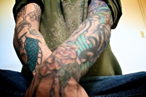 sleeve tattoo 1