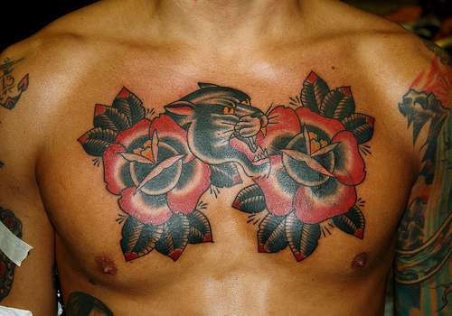 21 Bold Flower Tattoos on Men - Tattoo Me Now