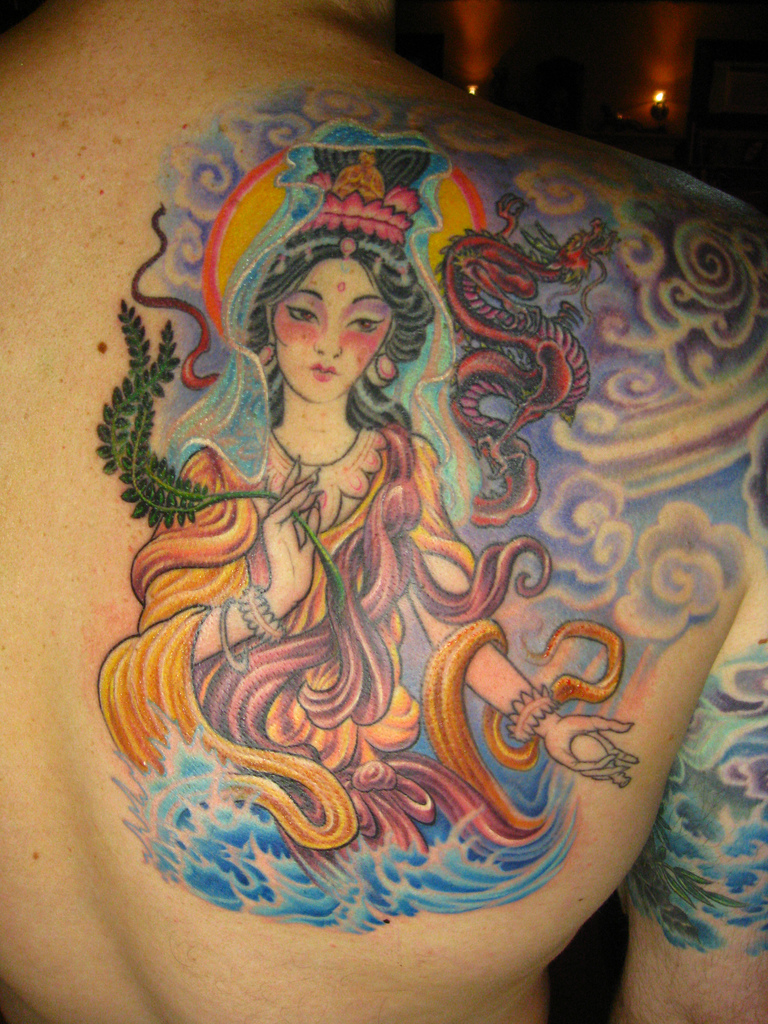 Goddess Spine Tattoo: Check Out Tons Of Tattoo Designs & Ideas