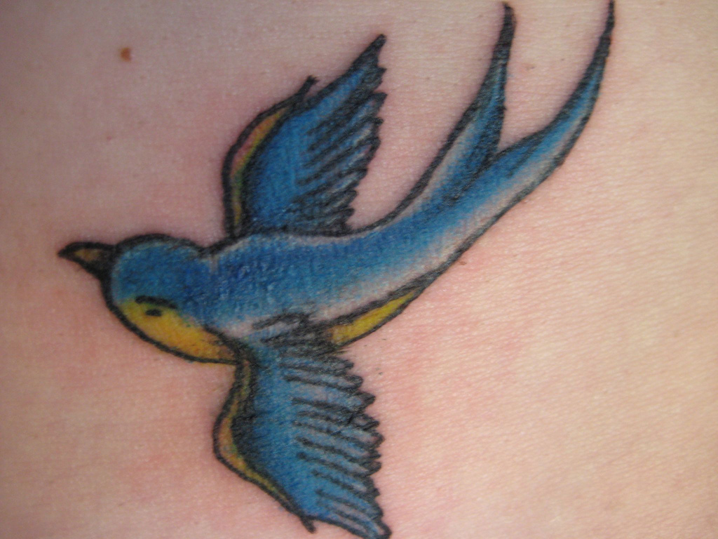 Sparrow Tattoos - Cute Sparrow Tattoo Designs, Ideas & Meaning ...