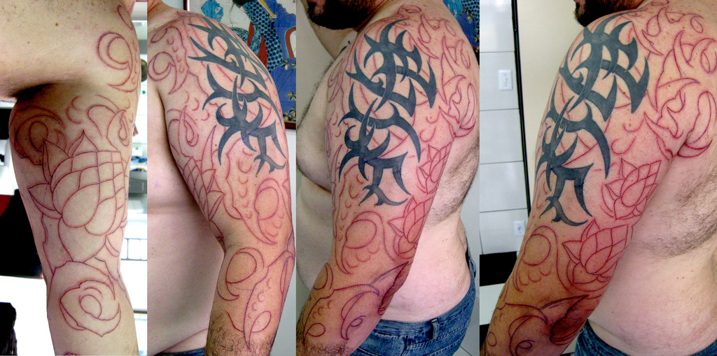 Tribal Sleeve Tattoos Check Out These Cool Tribal Sleeves