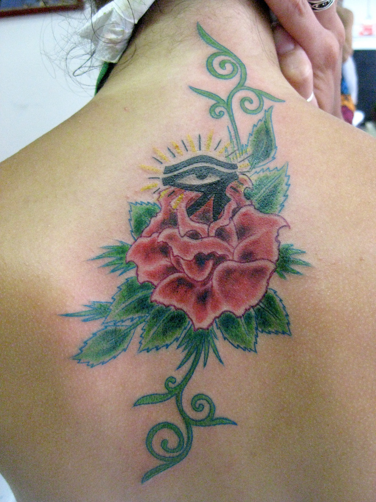 Single Flower Tattoo Designs