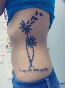 Inscription Daisy Tattoo