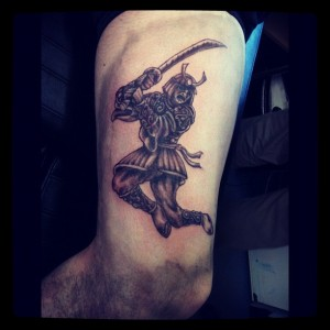 Warrior Samurai Tattoo