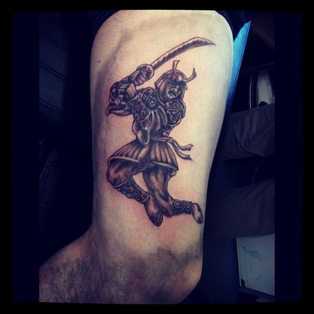 17 amazing samurai tattoos tattoo me now for Sword tattoos tumblr