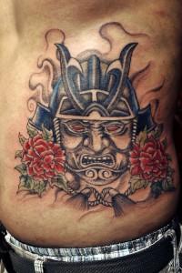 Bold Samurai Tattoo