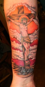 The Crucifixion Jesus Tattoo