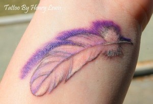 Feather Wrist Tattoos
