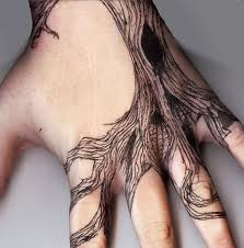 Tree Tattoos for the hand