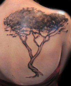 Tree Tattoos for the back