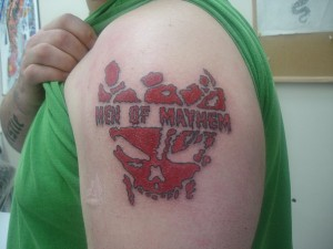Men of Mayhem Tattoos for Men