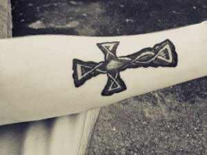 Celtic Knot Cross Tattoo