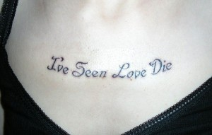 Lyrics Quote Tattoos