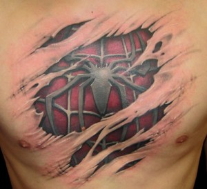 Spider man Tattoo
