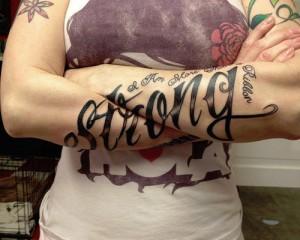 Crossover Tattoo