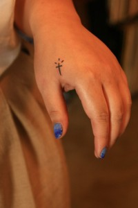 Small Cross Tattoo