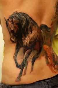 Horse Tattoos for men