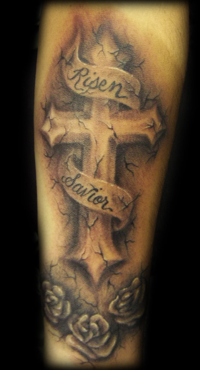 Tattoo Ideas Cross: 25 Amazing Cross Tattoos