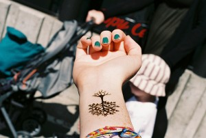 Tree Tattoos for the wrist
