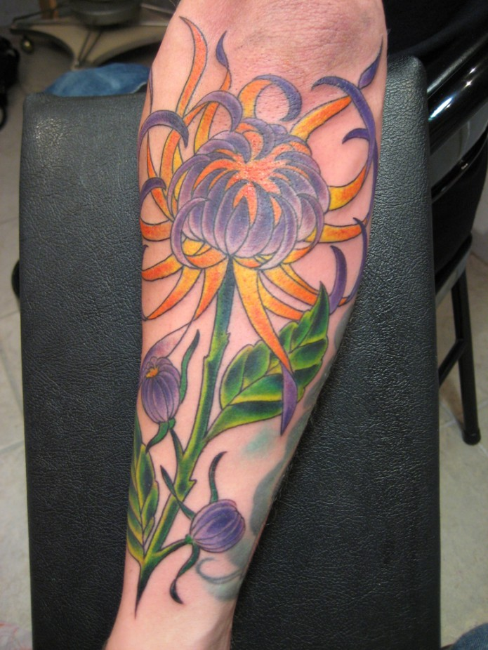 44 Stunning Flower Tattoos You Ll Love These