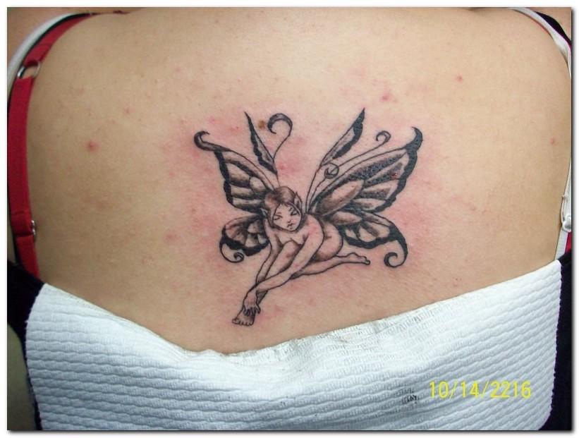 12 beautiful fairy tattoos tattoo me now. Black Bedroom Furniture Sets. Home Design Ideas