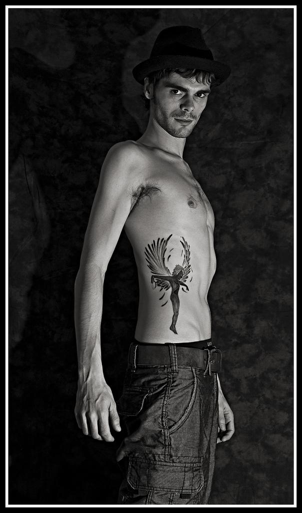 Tons of Beautiful Angel Tattoos - Tattoo Me Now