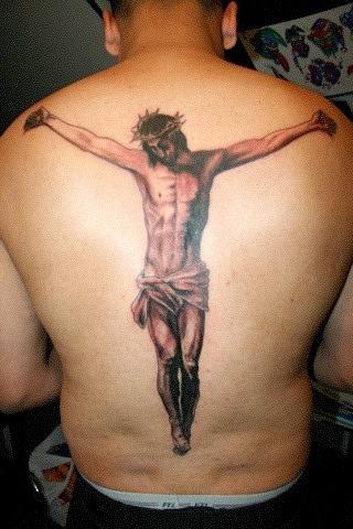 15 inspiring jesus tattoos designs on neck forearm back for Tattoo of jesus