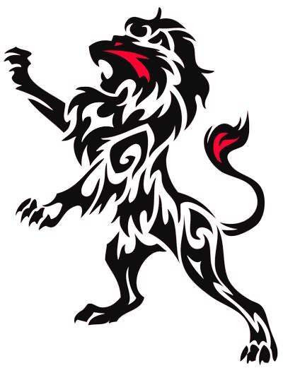 lion tattoo sample