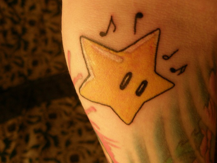 star tatoo