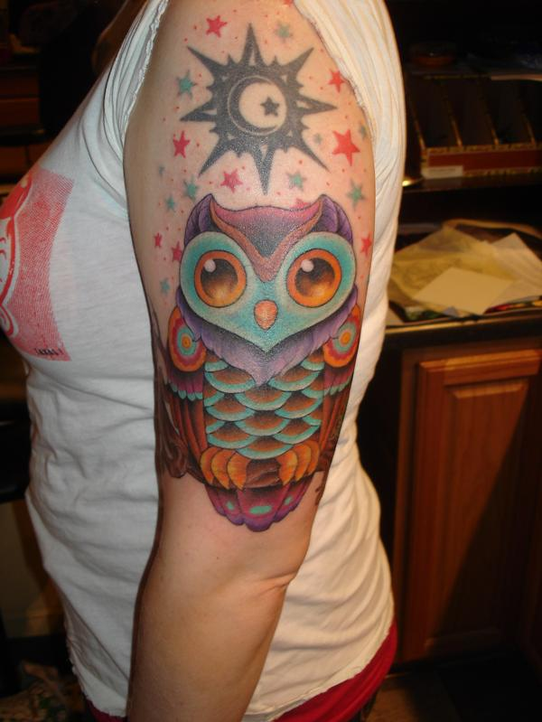 15 Outstanding Owl Tattoos Tattoo Me Now