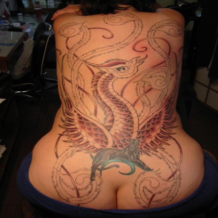 Tons Of Stunning Phoenix Tattoos Tattoo Me Now