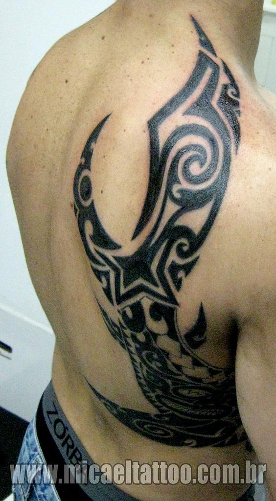 maori tattoo on back