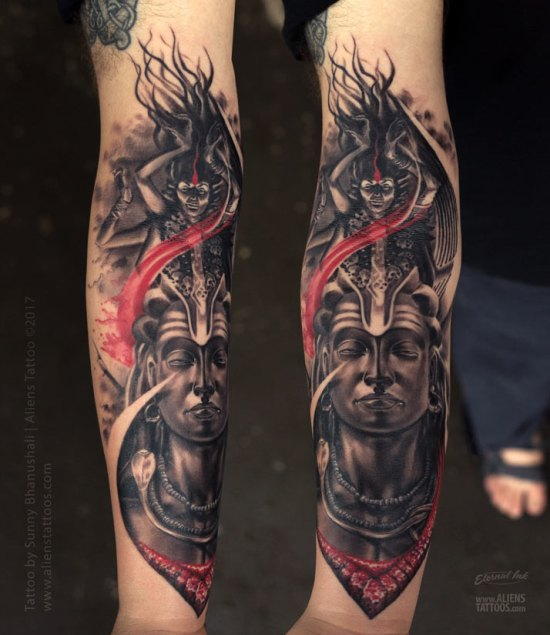 50 Shiva Tattoo Design Ideas And Placements
