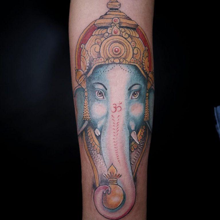ganesha tattoo forearm - photo #28
