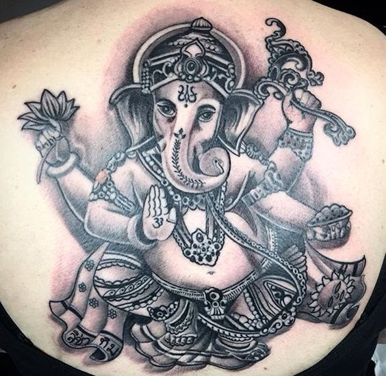 Tattoo Designs Ganesh: 50 Amazing Lord Ganesha Tattoo Designs And Meanings