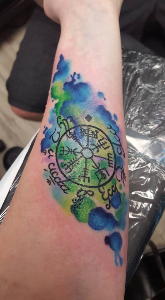 28 Vegvisir Tattoo Designs Vegvisir D 246 Vme Tatoo