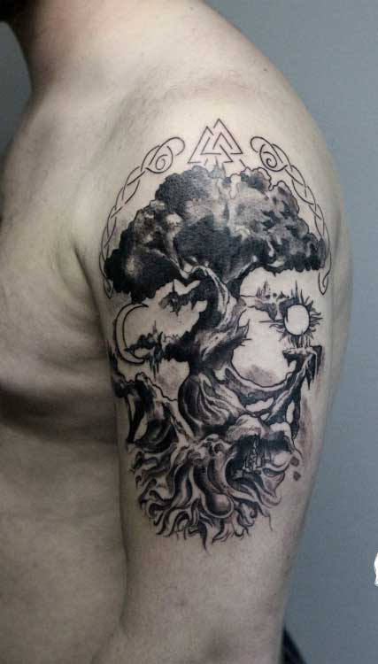 Viking Tattoo Designs, Ideas and Meanings - Tattoo Me NowNorse Viking Tattoos