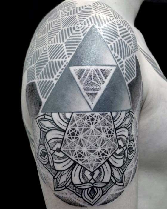 Triangle Tattoo Designs, Ideas And Meanings