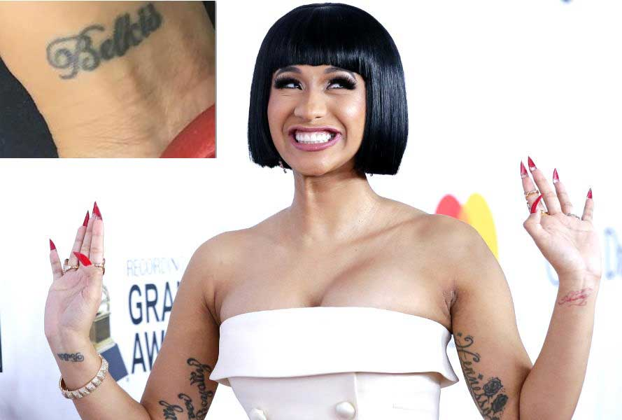 Cardi B's Tattoo Collection And Meanings Behind Them