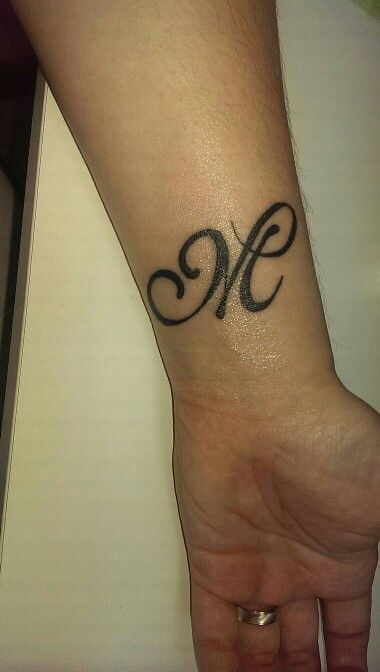 Letter M Tattoo Designs And Meanings Tattoo Me Now