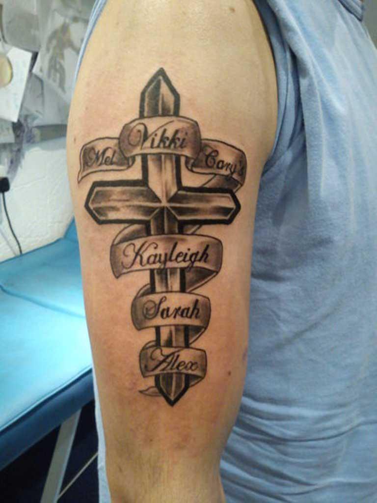 100+ Beautiful Kids Name Tattoos , Designs and Ideas