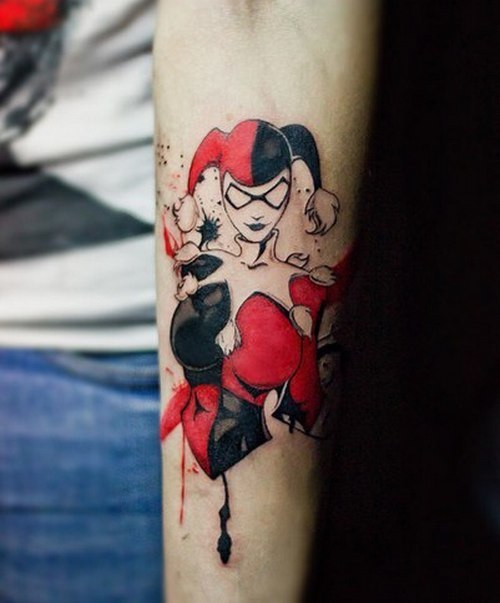 6a4b9c2b4 50+ Amazing Harley Quinn Inspired Tattoo Designs and Margot Robbie's ...
