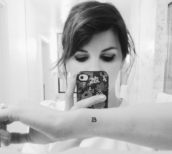 Small Letter Tattoo: 70+ Letter B Tattoo Designs, Ideas And Templates