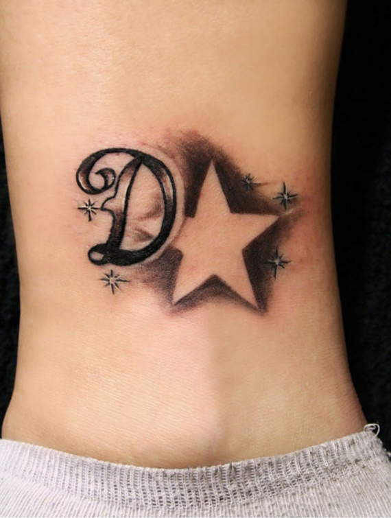 60+ Letter D Tattoo Designs, Ideas And Templates